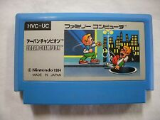 NES -- URBAN CHAMPION -- Famicom. Japan game. Work to ensure.