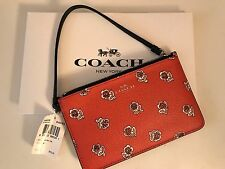 NWT COACH F56026 FLORAL SIENNA ROSE SM WRISTLET W/GIFT BOX! NEW LOW PRICE!!
