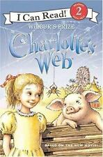 Charlotte's Web: Wilbur's Prize (I Can Read Book 2)-ExLibrary