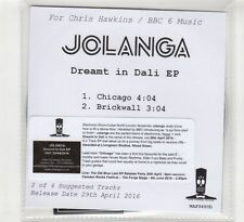 (HD350) Jolanga, Dreamt In Dali EP - 2016 DJ CD