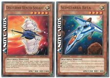 Disturbo Vento Solare + Scimitarra Beta ☻ Comune ☻  SDCR IT013 IT015 ☻ YUGIOH
