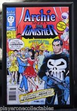 Archie Meets The Punisher #1 Comic Book Cover - Fridge / Locker Magnet.  Marvel
