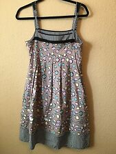 BCBGMaxazria Pleated Bubble Tea Day Dress Hidden Pockets Small 4