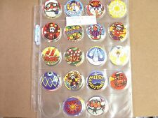 POGS/MILKCAPS CHRISTmas POGS 1994 COMPLETE SET OF ALL (54)