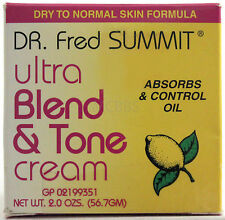 DR FRED SUMMIT ULTRA BLEND & TONE  FADE CREAM DRY TO NORMAL SKIN  2 OZ.