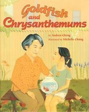 Goldfish and Chrysanthemums-ExLibrary