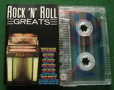 Rock n Roll Greats Frankie Lymon Bobby Vee Gene Vincent + Cassette Tape - TESTED