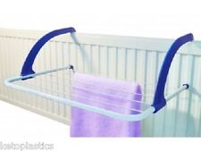 Radiator Towel / Clothes Folding Airer Dryer Drying Rack 5 Rail Bar Holder WHAM