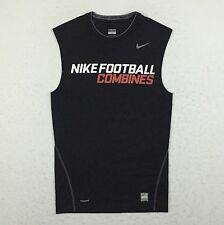 Nike SPARQ NFTC Football Training Combine Compression Tank Shirt Men's Large L