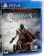 Assassin's Creed: The Ezio Collection (Sony PlayStation 4) PS4 NEW Fast✈Ship/✍Tr