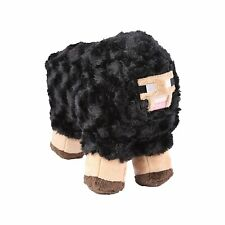 "Minecraft 10"" Black Sheep Plush Stuffed Anima"
