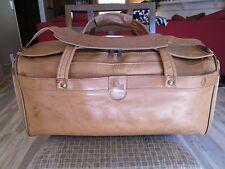 Hartmann Leather Duffle Bag  Near Mint