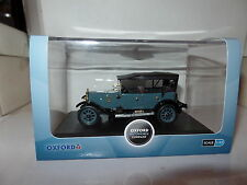 Oxford AHT001 1/43 O Scale Austin Heavy Twelve 12 12/4 Car Airways Blue