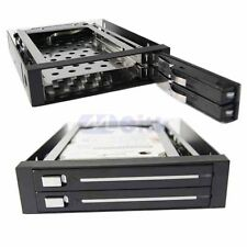 "2-Bay SATA Serial ATA Internal Hot swap Enclosure Mobile Rack For 2.5"" Hard Disk"