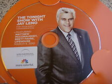 THE TONIGHT SHOW WITH JAY LENO EMMY DVD Lifehouse Matthew Mcconaughey Brett Favr