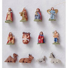 Darice Christmas Decor - Miniature Nativity Ornaments 12pc Set #2420-57