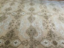 Tremendous Taupe - Modern Contemporary Rug - Transitional Indian Carpet 10 x 14
