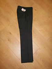 "BNWT M&S BLACK MACHINE WASHABLE SUIT SMART TROUSERS WAIST 30"" L31"""