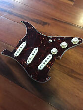 Fender Strat Stratcaster Tex Mex Hot Alnico Pickups Loaded Tortoise Pickguard