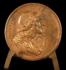 Médaille dramaturge et poète Pierre le Grand Corneille l'ainé sc Thévenon medal