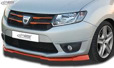RDX Frontspoiler VARIO-X für DACIA Sandero 2 incl. Stepway/ Logan 2 incl. MCV