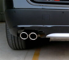 CHROME EXHAUST TIP For BMW X3 2.8 xDrive28i F25 2011 2012 2013 2014 2015 2016