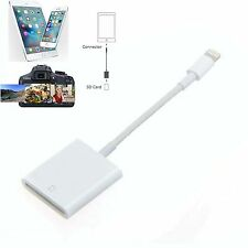 SD Card Camera Reader Adapter Cable for iPhone 5/5s/6/6s/7 Plus/iPad Mini/Air
