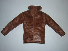 DID Dragon In Dreams 1/6th Scale Brown Leather Jacket - Pierre