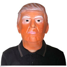 For Donald Trump Costume Mask Halloween Realistic Latex Masquerade Mask Popular