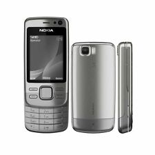 Nokia 6600i Slide - Silver Steel (Unlocked) Mobile Phone - Warranty Grade C