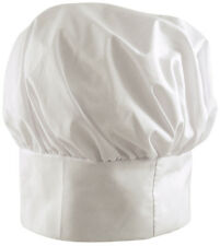Adult Tall chef chefs hat White baker pastry cook stag fancy dress accessory