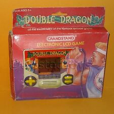 VINTAGE PIEDISTALLO TIGER ELECTRONIC DOUBLE DRAGON palmare LCD GAME BOXED RARE