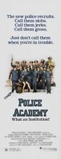 Police Academy Insert Movie Poster 14x36 Replica