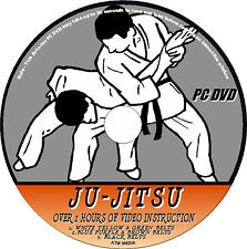 JU-JITSU 3 DVD'S EASY TO FOLLOW TRAINING LESSONS  2+ HRS  VIDEO TUTORIAL  NEW