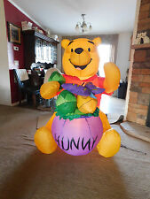 Gemmy Airblown Inflatable Giant 5' Easter Disney Winnie the Pooh