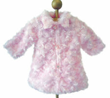 """Pink Fur Coat for 18"""" American Girl Doll Clothes GREAT PRICE"""