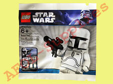 LEGO 4597068 Star Wars White Boba Fett Limited Edition Figur Polybag