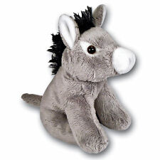 13cm Donkey Soft Toy - Plush Cuddly Toy - Suitable for all ages (0+)