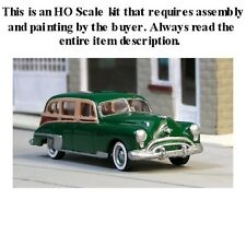 "HO SCALE: ""1949 OLDSMOBILE ROCKET 88 STATION WAGON"" by Sylvan-Kit V-170"