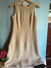 Loro Piana for Brooks Brothers cashmere dress size 6 US Cream