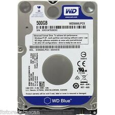 "WD 500 GB BLUE SATA 2.5"" LAPTOP HardDisk Drive Western Digital HDD (WD5000LPCX)*"
