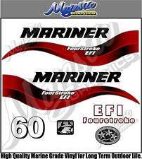MARINER - 60hp FOURSTROKE EFI - OUTBOARD DECALS