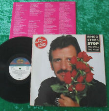 Ringo Starr LP Stop And Smell The Roses (Bellaphon)