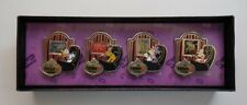 Disney Pin DLR Friday the 13th The Haunted Mansion 4 Pin Boxed Set LE500