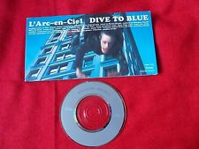 "L'Arc-en-Ciel DIVE TO BLUE / 3"" Japanese MINI CD Single JAPAN J-POP / UK DESPATC"