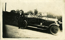RA050 Early RP POSTCARD Citroen B-Type Vintage Car/Voiture - Reithen Dated 1928
