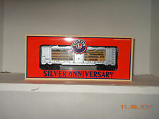 LIONEL #52289 TCA 25th anniversary museum bullion car