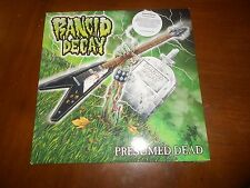 RANCID DECAY PRESUMED DEAD LIMITED VINYL LP EXCELLENT RARE THRASH METAL AWESOME