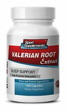 VALERIAN ROOT Extract. Sleep Support. Promotes Relaxation (1 Bottle)