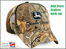 UK SELLER NEW JOHN DEERE REALTREE CAMOUFLAGE TRUCKER MESH CAP CAMO HAT